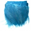Coque Hackle 4-6in Value Strung 1Yd Turquoise